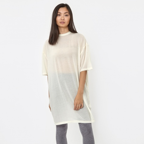 Oversized S/S T-Shirt - Snow White