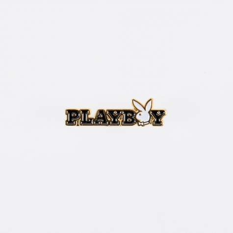 x Playboy Bunny Text Pin