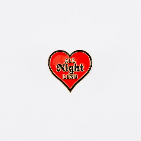 All Night Long Pin