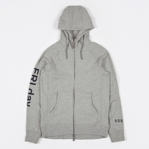 Cope Everett FZ Hoodie - Dark Grey Heather
