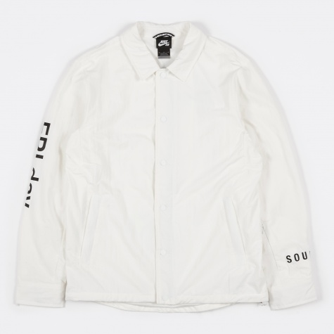 Cope Coaches Jacket - Ivory/Black