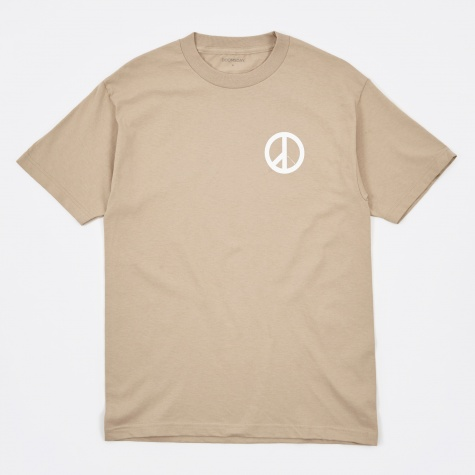 Falling To Peaces T-Shirt - Sand