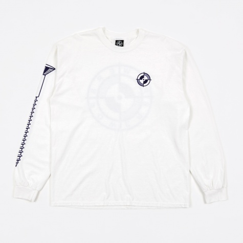 Registration Screw LS Tee - White