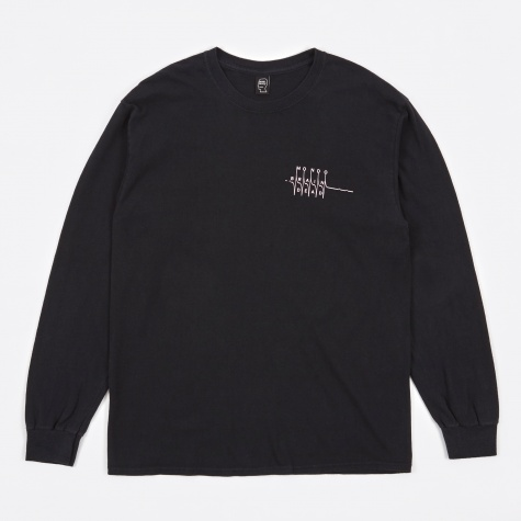 Bottoms Up L/S Tee - Black