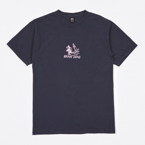 Catch Me If You Can Tee - Navy