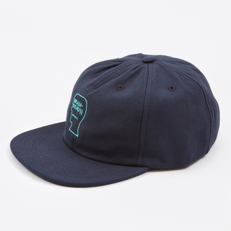 Herringbone Logo Hat - Navy
