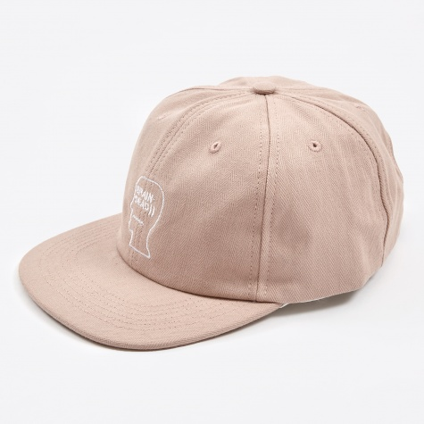Herringbone Logo Hat - Washed Pink