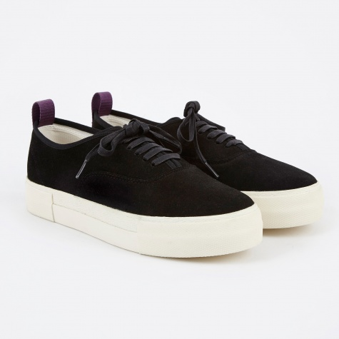 Mother Suede Sneakers - Black