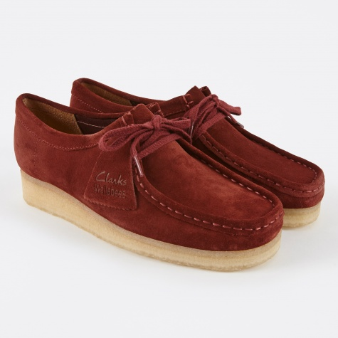 Clarks Wallabee - Nut Brown Suede