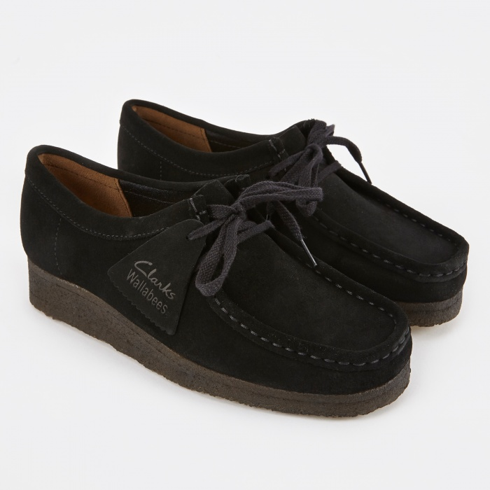 Clarks Originals Clarks Wallabee - Black (Image 1)
