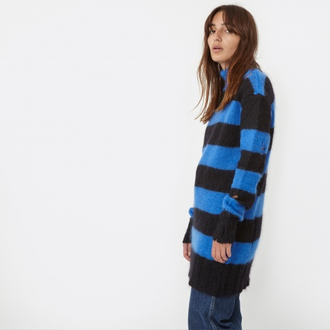 Steffy Knit - Black/Blue