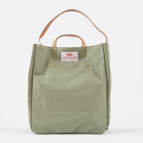 Quality Canvas Tool Bag - Sage