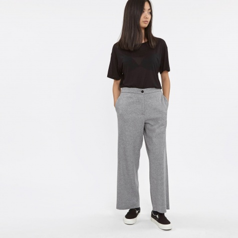 Delfina Trouser - Light Grey