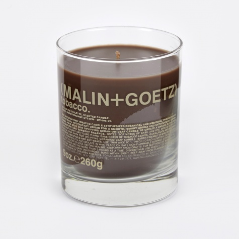 Malin & Goetz Scented Candle - Tobacco