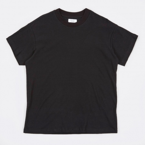 Boxy Tee - Seal Black
