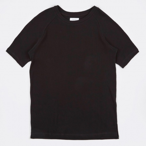 Raglan Tee - Seal Black