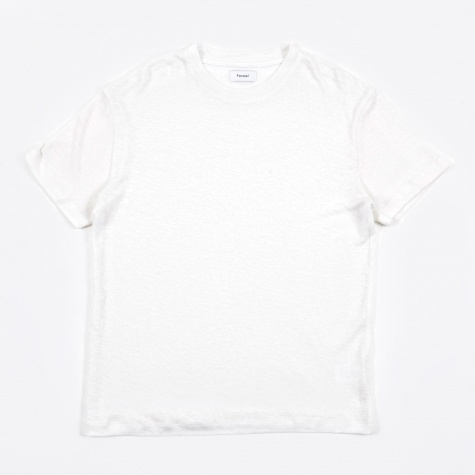 Essential Luxe Hemp Tee - Optic White