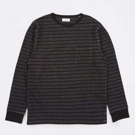 James Stripe Jersey - Black