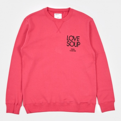 Love Coup Crew Sweat - Pink