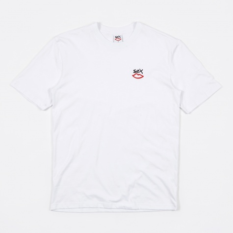 Mini Logo Tee - White