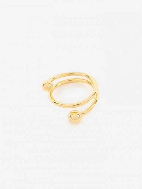 Body Spiral Ring - 14K Gold Plated