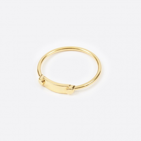 Eliane Ring - 14K Gold Plated