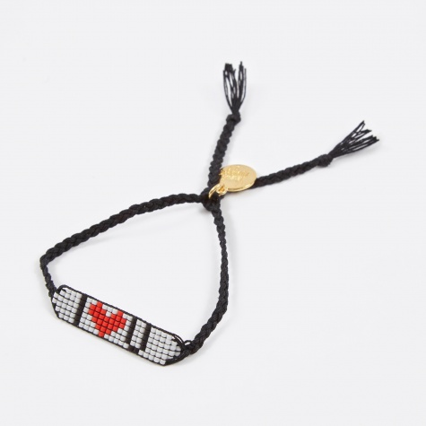I Love You Bracelet - Black
