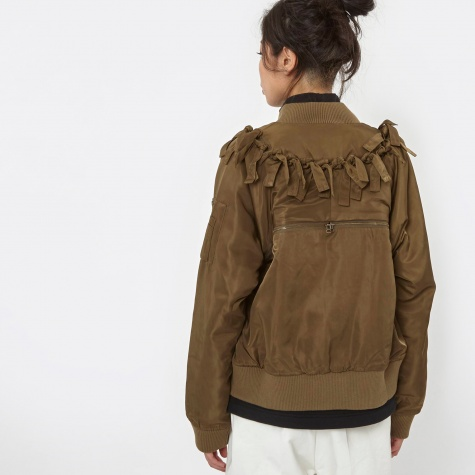 PAM Connected Bomber - Army/Orange