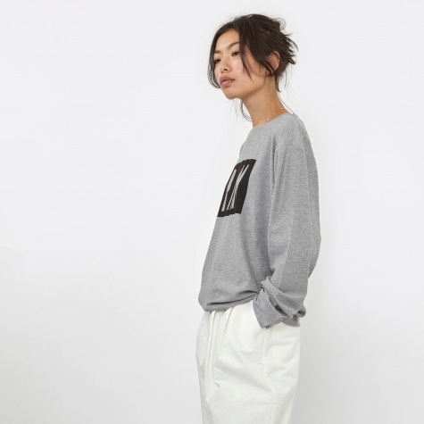 PAM Upgrade L/S Top - Grey Marle