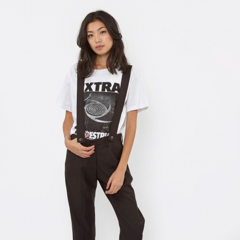 Jersey Extra Terrestrial S/S T-Shirt - White/Bla