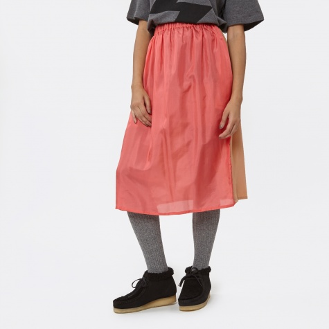 Vonsono 2 Tone Skirt - Red/Nude
