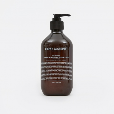 Shampoo: Damask Rose, Black Pepper & Sage - 500m