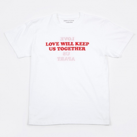 Love Will Reversible T-Shirt - White