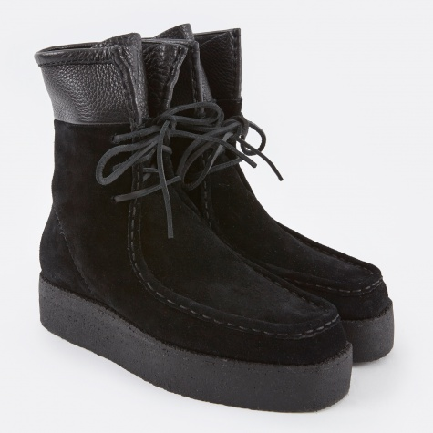 Selma Calf Suede - Black