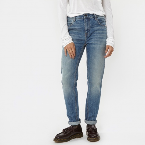 Relaxed Fit Denim - Light Indigo
