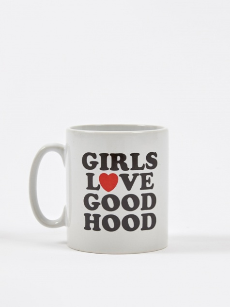 Girls Love Goodhood Mug - White