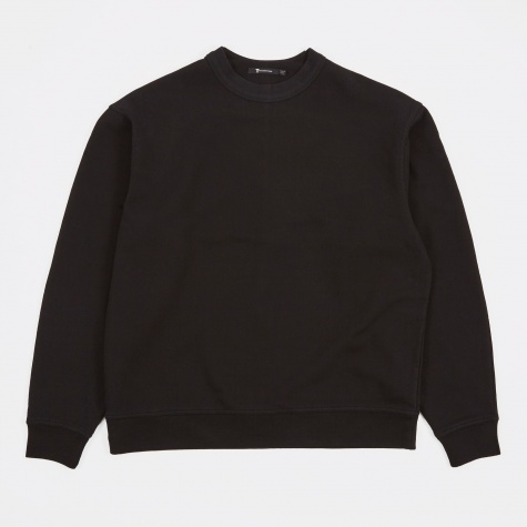 T by Alexander Wang Vintage Fleece L/S Sweatshirt - Black