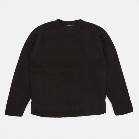 T by Alexander Wang Piped Sweater - Black