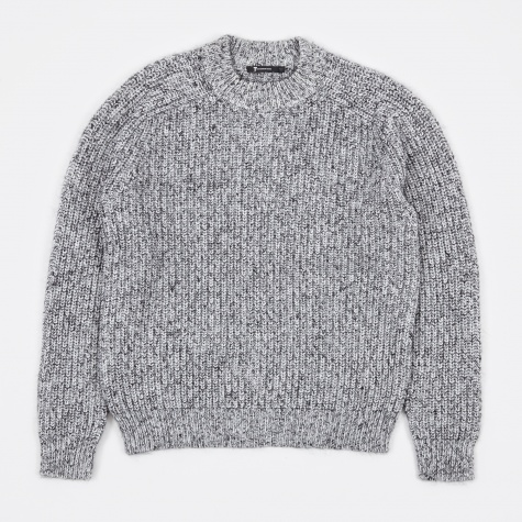 T by Alexander Wang Chunky Sweater - Black/White