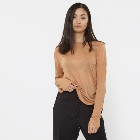 Long Sleeve Top - Nude 3