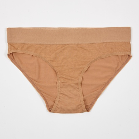 Elastic Bell Brief - Nude 3