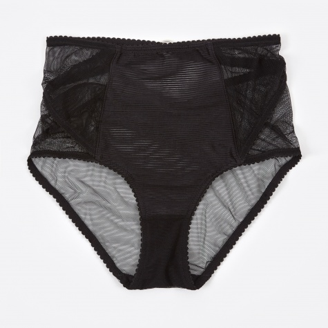 Lexi High Waisted Brief - Black