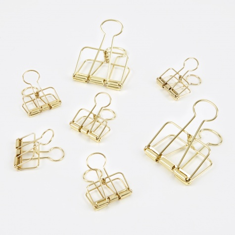 Outline Set of 10 - Gold