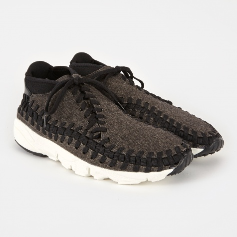 Air Footscape Woven Chukka SE Shoe - Black/Black/Ivory
