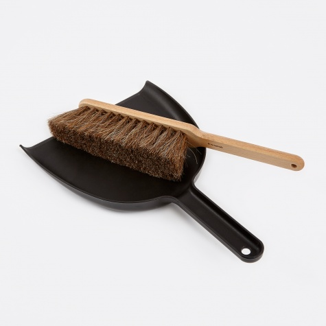 Dustpan & Brush Set - Black
