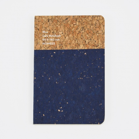 Cork Notebook Blue - Small