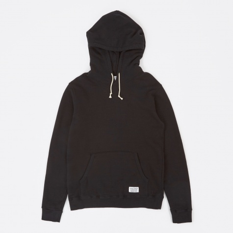 Pullover Hooded Sweat Shirt - Black