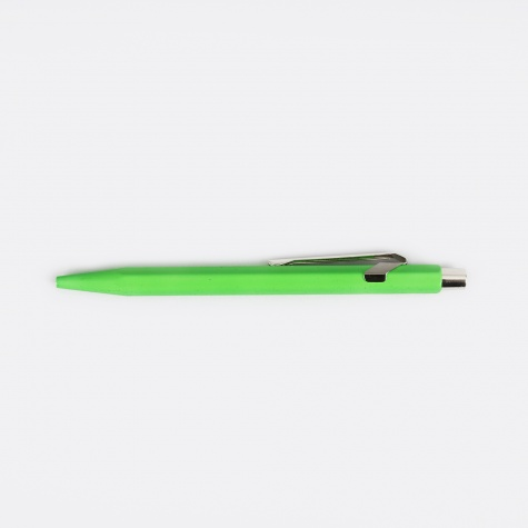 Ballpoint Pen 849 - Green Fluo With Box