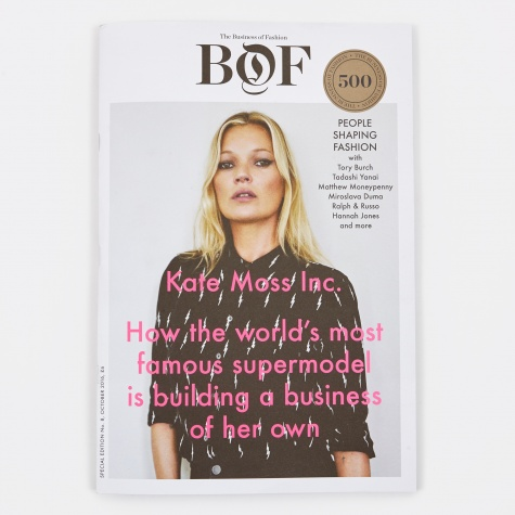 The Business of Fashion Issue 8 - Kate Moss Inc