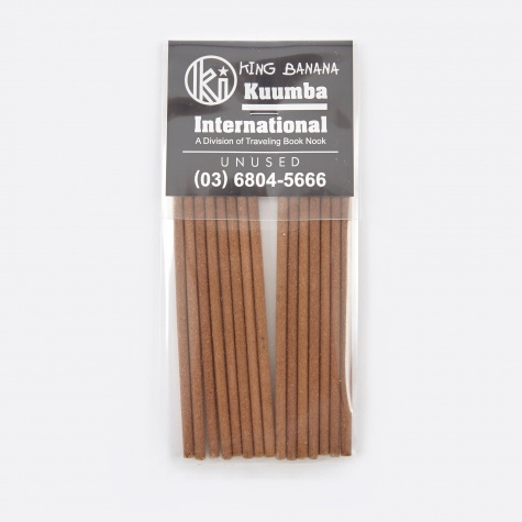 x Kuumba King Banana Incense - Short